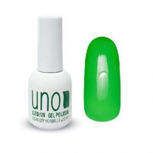 UNO, Гель–лак №054 Green Neon — «Зеленый неон»