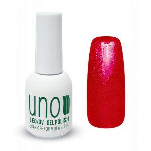 UNO, Гель–лак №091 Raspberry Firework — «Малиновый фейерверк»