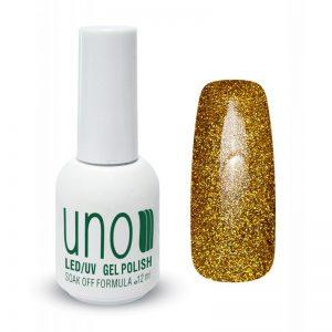 UNO, Гель–лак №110 Gold Dust — «Золотая пыль»