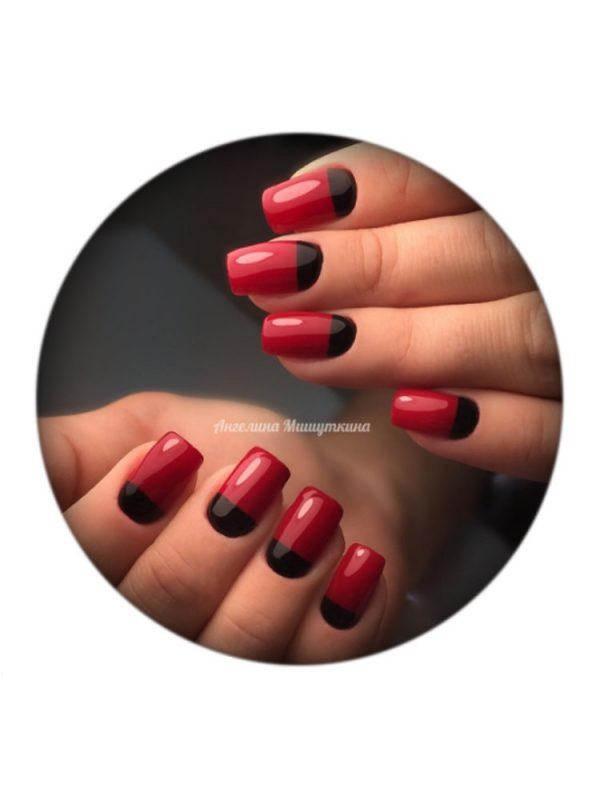 UNO, Гель–лак №080 Japanese Red — «Японский красный»
