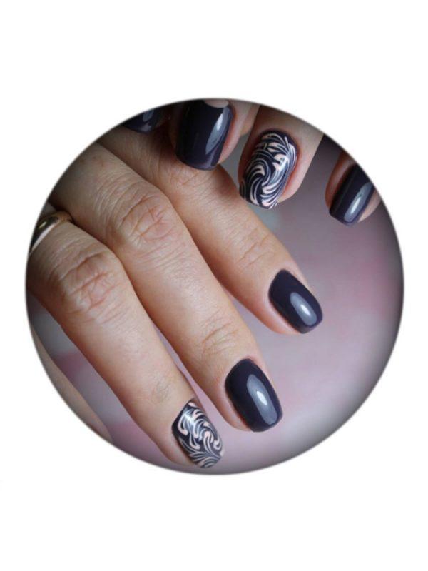 UNO, Гель–лак №177 Dark Basalt — «Темный базальт»