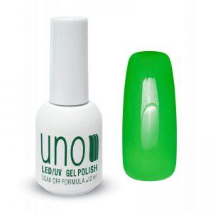 UNO, Гель–лак №156 Pale Green — «Салатовый»