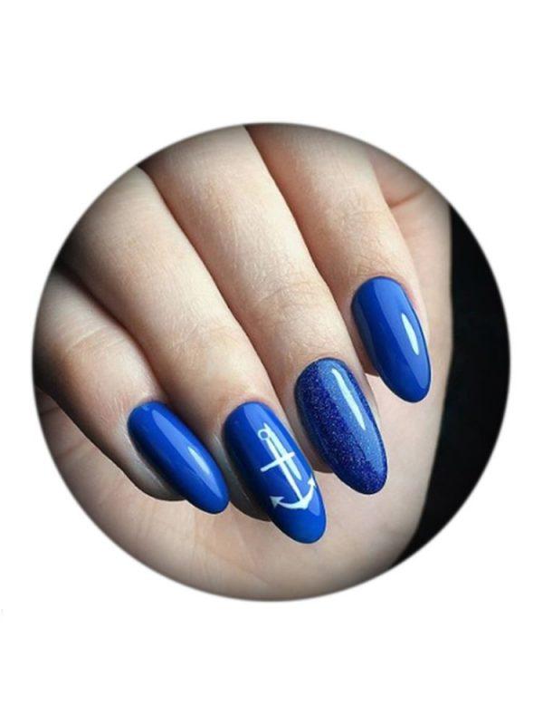 UNO, Гель–лак №375 Blue — «Синий»