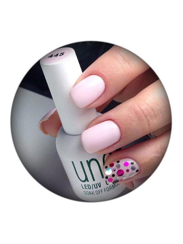UNO, Гель–лак №445 Pink Peony — «Розовый пион»
