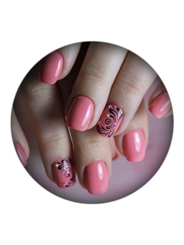 UNO, Гель–лак №077 Pink Grapefruit — «Розовый грейпфрут»