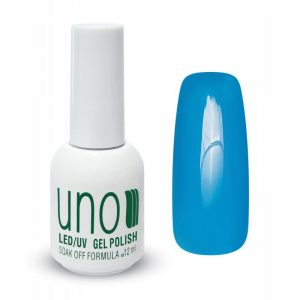 UNO, Гель–лак №268 Electric Blue — «Электрический голубой»