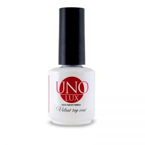 Uno Lux, Верхнее покрытие с бархатным эффектом Uno Lux Velvet Top Coat