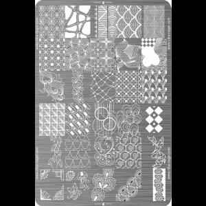 Пластина для стемпинга №04 (большая)