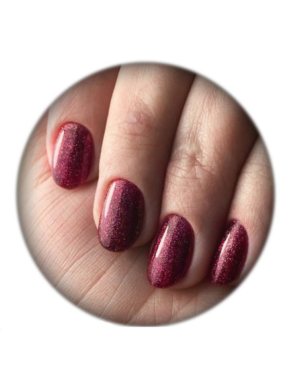 UNO, Гель–лак №045 Pomegranate — «Гранат»