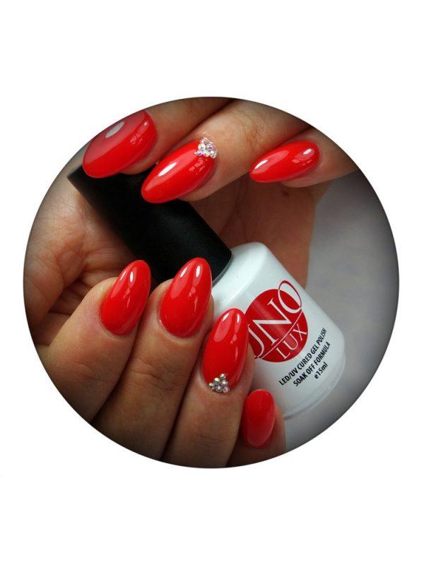 Uno Lux, Гель-лак №25 Esmeralda — «Эсмеральда» коллекции Lady in Red