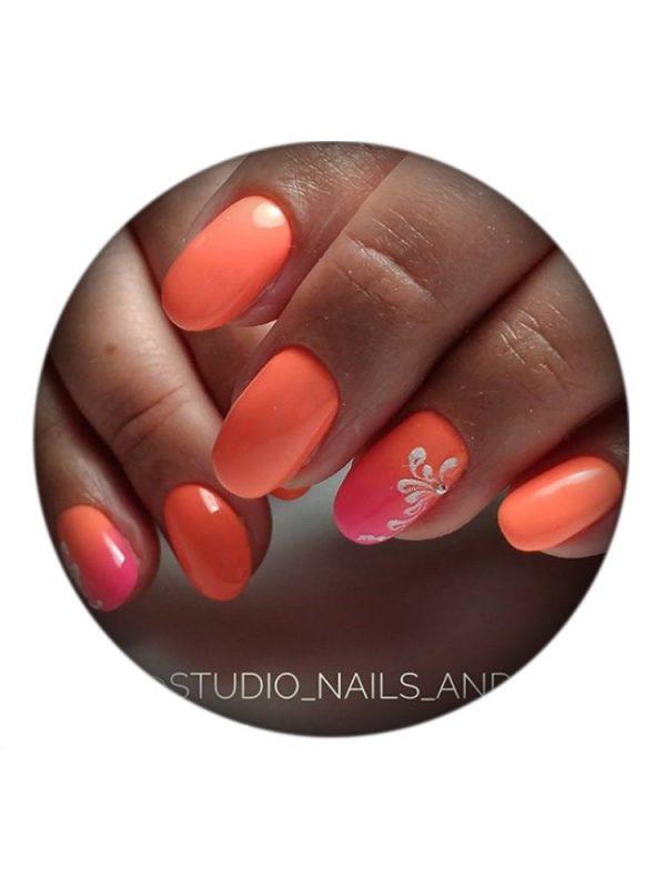 UNO, Гель–лак №367 Orange Gerbera — «Оранжевая гербера»