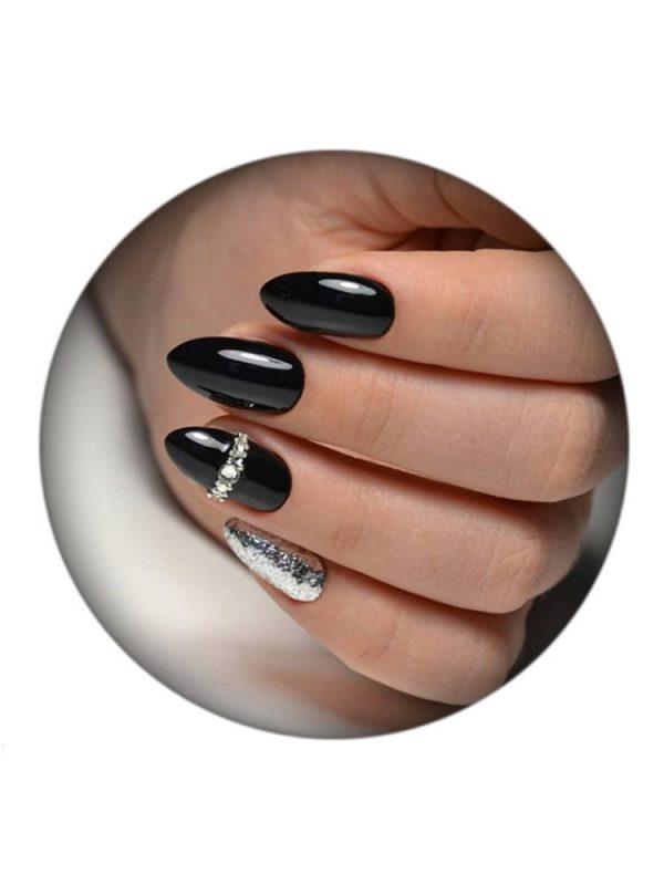 Uno Lux, Гель-лак №241 Black — «Черный» коллекции Classic