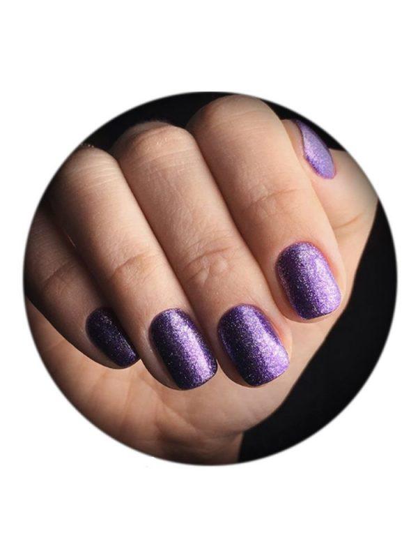 UNO, Гель–лак №405 Purple Veil — «Лиловая вуаль» коллекции Carnival