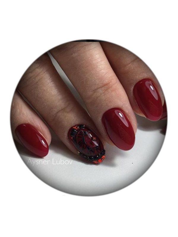 UNO, Гель–лак №079 Ruby Red — «Рубиновый» коллекции Moulin Rouge