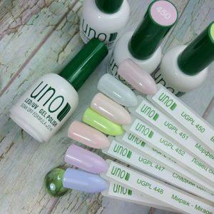 Цветные гель-лаки UNO