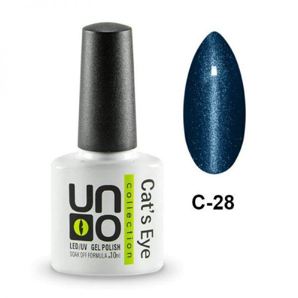 UNO, Гель–лак «Кошачий глаз» №28
