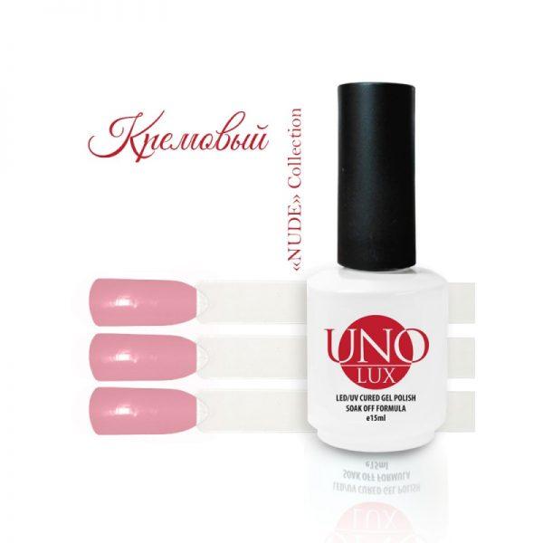Uno Lux, Гель-лак №243 Cream — «Кремовый» коллекции Nude