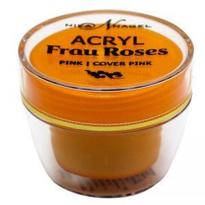 Акриловая пудра Acryl «PULVER FRAU ROSES» rosa 30 г