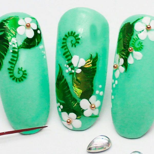 """Набор наклеек для дизайна ногтей """"Фреска ювелирная №1"""""""