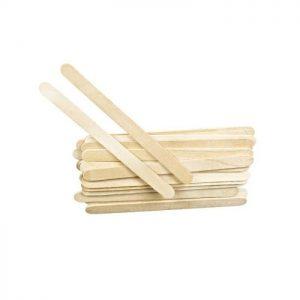 Шпатель узкий деревянный