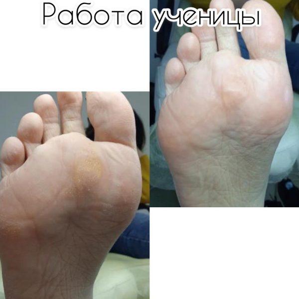 Курс АЭРОПЕДИКЮР (стопы + ногти)