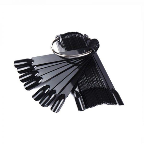 Палитра для выкраски черная 50 шт